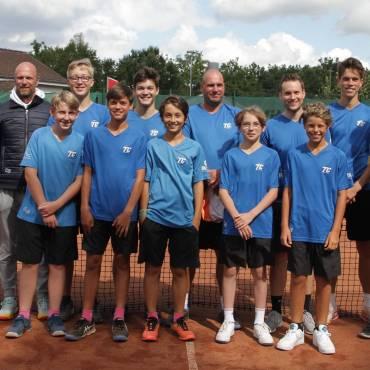 Der TC Jesteburg ist Stützpunkt für leistungsstarke Tennis-Herren